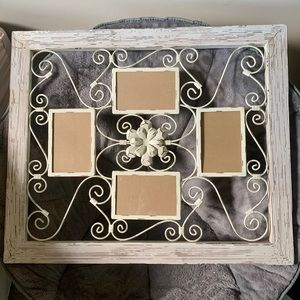 Pier 1 Shabby Chic Wood Picture Frame